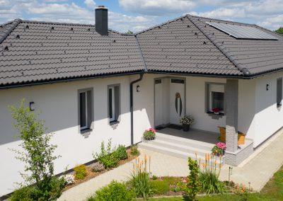Duna Novo tetőcserép családi házon